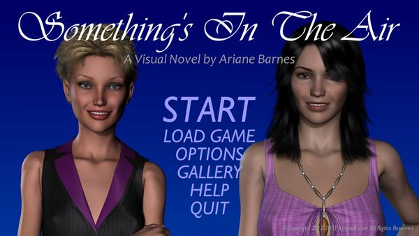 Something's In The Air [version 1.0] [uncen] [2013, 3DCG, ADV, SLG, Straight, Lesbians, Group] [eng]