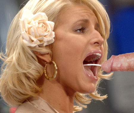 Facial jessica simpson fake