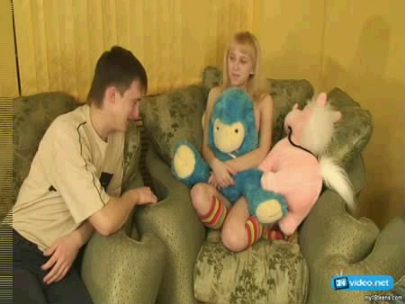 Hot incest - Young blonde girl