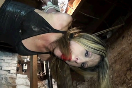bondage videos - real bondage girl