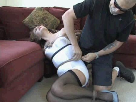 Binding of a young girl